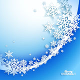 Abstract Christmas winter Background Royalty Free Stock Photo