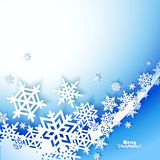 Abstract Christmas winter Background Stock Image