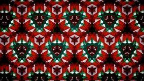 Abstract Christmas Xmas green red white color wallpaper Stock Photos