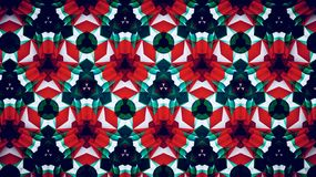 Abstract Christmas Xmas green red white color wallpaper Stock Image
