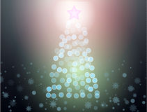 Abstract christmass tree Royalty Free Stock Images