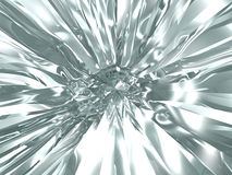 Abstract chrome background Royalty Free Stock Photos