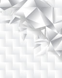 Abstract chrome pattern background Royalty Free Stock Photo