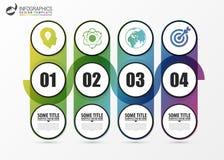 Abstract chronologie infographic malplaatje Bedrijfs concept Vector stock illustratie