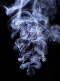 Abstract cigar smoke on black Royalty Free Stock Image