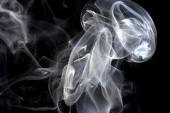 Abstract cigarette smoke pattern Stock Photography