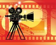 Abstract cinema background Stock Photos