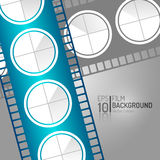 Abstract Cinema Background Design. Vector Elements. Minimal Film Illustration. EPS10. Abstract Cinema Background Design. Vector Elements. Minimal Film vector illustration