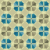 Abstract circle arrow background seamless texture Royalty Free Stock Images