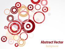 Abstract circle backdrop Royalty Free Stock Image