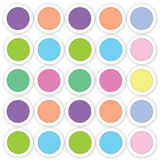 Abstract circle background. Arranged in rows Stock Images