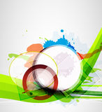 Abstract circle background Stock Photos