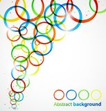 Abstract circle background Stock Image