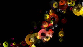 Abstract circle background design Stock Image