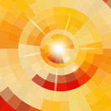 Abstract circle background. Editable vector illustration Stock Photo