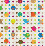 Abstract Circle Background illustration Stock Images