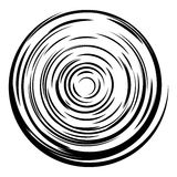 Abstract circle background. Radial lines background. Royalty Free Stock Photo