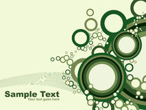 Abstract circle background.vector Royalty Free Stock Photo