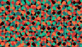 Abstract circle background vintage color. Vector illustration Stock Photography