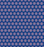 Abstract circle blue purple pattern wallpaper Stock Photos