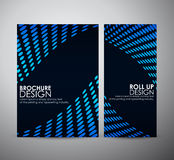 Abstract Circle. Brochure business design template or roll up. Stock Photos