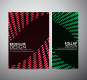 Abstract Circle. Brochure business design template or roll up. Stock Photo