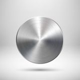 Abstract Circle Button Template Royalty Free Stock Photography