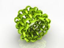 Abstract circle chain Stock Photos