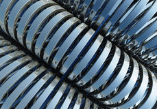 Abstract of circle chromium Stock Photo