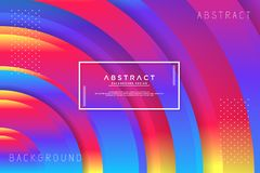 Abstract circle colorful background royalty free illustration