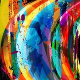 Abstract circle composition Royalty Free Stock Photos