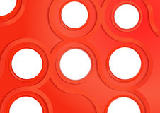 Abstract circle and curve line background. VECTOR, EPS10 Royalty Free Stock Photos