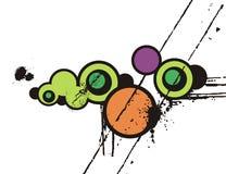 Abstract circle design Stock Photos