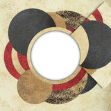 Abstract circle design background Royalty Free Stock Photo