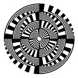 Abstract circle design element. Stock Photography
