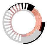 Abstract circle design element. Stock Photos