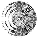 Abstract circle design element. Royalty Free Stock Images
