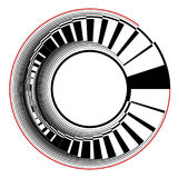 Abstract circle design element. Stock Image