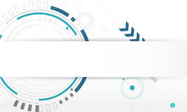 Free Abstract Circle Digital Technology Background, Futuristic Structure Elements Concept White Stock Photography - 83577372