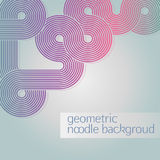 Abstract circle geometric background Stock Image