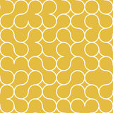 Abstract Circle Gold Background Pattern. Abstract Circle Colored Background Pattern Stock Photo