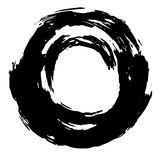 Abstract circle hand draw Royalty Free Stock Image