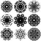 Abstract Circle 001. Imagine a circle of variants. You need to panic royalty free illustration