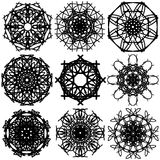 Abstract Circle 003. Imagine a circle of variants. You need to panic Stock Image