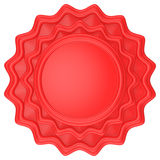 Abstract circle label Royalty Free Stock Photos