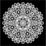 Abstract circle lace pattern Royalty Free Stock Photos