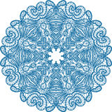 Abstract circle lace pattern. Stock Image