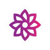 Abstract circle leaf logo image Stock Photos