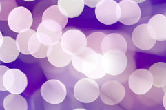 Abstract circle lights on a lilac background Royalty Free Stock Photo
