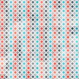Abstract circle lines seamless pattern Stock Image